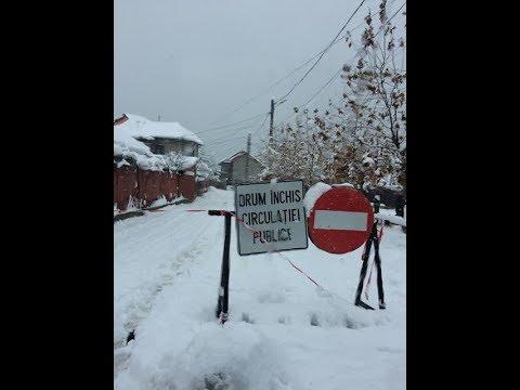 situatie grava in Mehedinți, iarnă grea