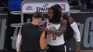 Inside The NBA Discusses Montrezl Harrell Apologizing To Luka Doncic Before Game 4