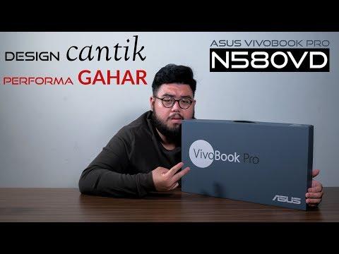 ENTRY-GAMING SAMBIL KERJA? INI KAH SOLUSINYA ? - Asus VivoBook Pro N580VD.