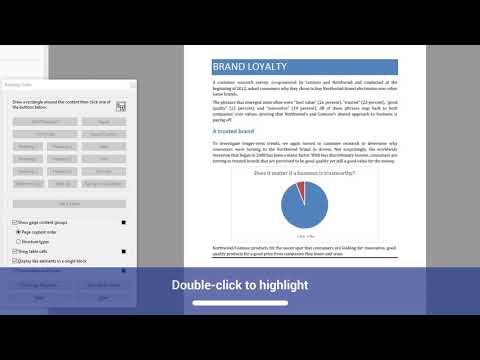 PDF Accessibility: Tagged PDF