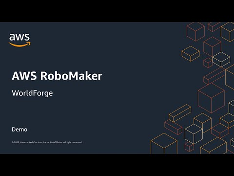 AWS RoboMaker WorldForge Simplifies Creating Simulation Worlds for Robotics