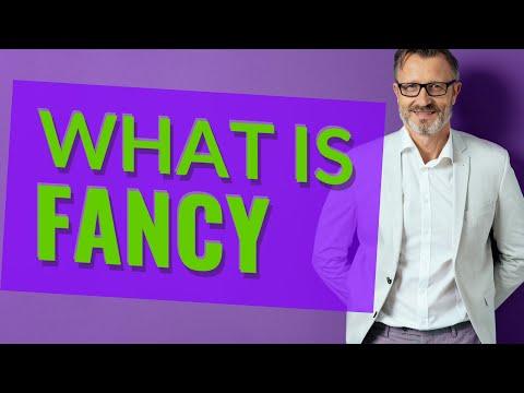 Fancy | Meaning