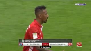 مشاهدة ملخص واهداف  مباراة بايرن ميونخ وآينتراخت فرانكفورت  بتاريخ 11 03 2017 الدوري الالماني