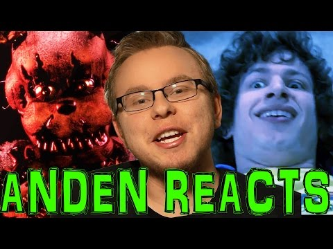 Five Nights at Freddy's is BAD! & The Shooter AKA Dear Sister (Anden Reacts)