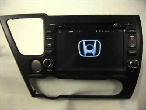 Android Auto DVD system for Honda Civic Sedan 2014-2015 Car GPS Radio Bluetooth Wifi 3G Internet