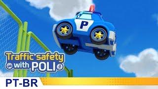 Segurança no trânsito com Poli | #14.Não brinque em estacionamentos