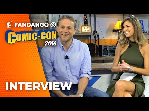 'King Arthur: Legend of the Sword' Charlie Hunnam Interview – COMIC CON 2016