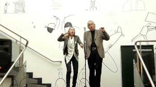 Jaap Blonk and a.rawlings improvisation, April 2009, Part 1