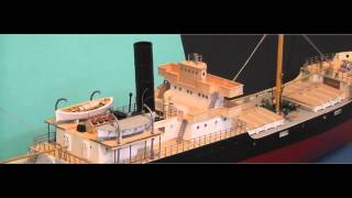 RC Model of  Three Island Type/TRAMP Steam Ship - SS Melanie II
