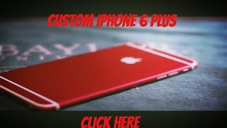 How to Make Your iPhone Red