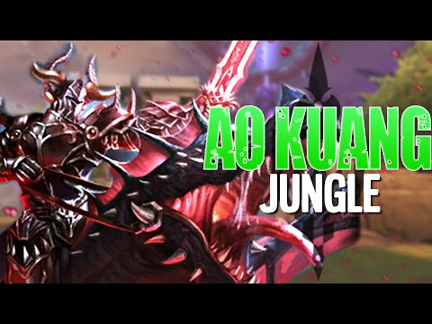 Smite: THE BEST RANKED JUNGLER IN SMITE! PERFECT AO KUANG SCORE!   Incon