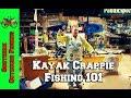 Kayak Crappie Fishing Seminar~Local Expert~NCKFA Member Nathan Wiles