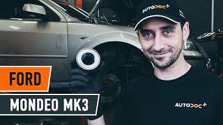 Hvordan udskiftes hjullager for til FORD MONDEO MK3 Sedan [UNDERVISNINGSLEKTIONER AUTODOC]