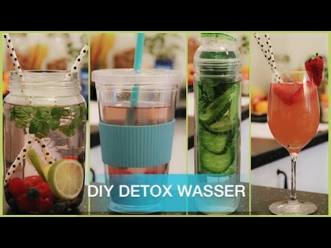 diy detox wasser kisu youtube. Black Bedroom Furniture Sets. Home Design Ideas