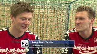 """""""Fans fragen... Spieler packen aus!"""" in Flensburg mit Kaufmann & Svan Hansen"""