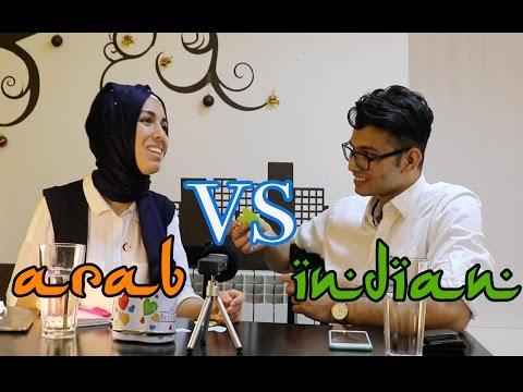 Indian Vs Arab Language Challenge - تحدي اللغة مع صديقي العربي