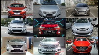Subcompact Battle Vios VS Mirage G4 VS City VS Accent VS Sail VS Fiesta VS Ciaz VS Mazda 2 VS Almera