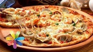 Как приготовить полезную пиццу? Рецепт от Обуховского - Все буде добре - Выпуск 397 - 26.05.14(Пицца входит в перечень блюд, вредящих нашей стройной фигуре, но при этом является самым популярным лакомст..., 2014-05-26T15:00:02.000Z)