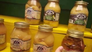 США. Цены на Овощи в Алабаме. Маринованные свиные ножки. Товары от сектантов.