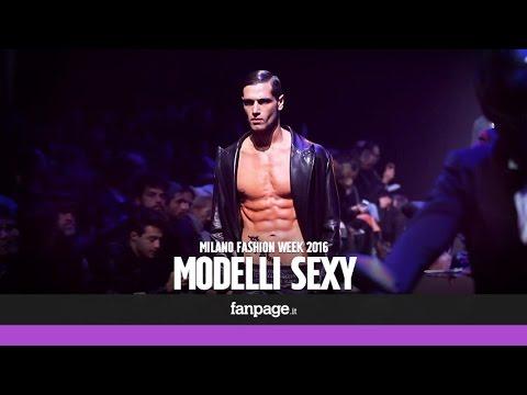 I modelli più sexy della Milano Fashion Week