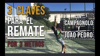 Padel technical tutorial: 3 tips for the 3 meter smash