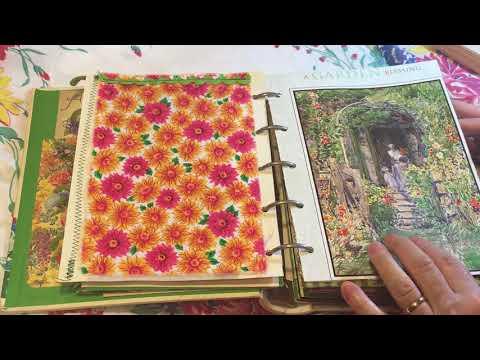 Garden Journal - 5 Ring Binder - Custom for Kim