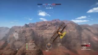 千鳥の「BATTLEFIELD1」飛行員 #19 Fighter Dogfight and double kill