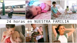 VLOG DIARIO / REENCUENTRO familia + RELACTAR + Irati DESOLADA + PEINADO moño (6 meses MELLIZAS)