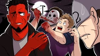 Dead by Daylight | DELIRIOUS IS OBSESSED WITH ME! (w/ H2O Delirious, Bryce, & Ohmwrecker)
