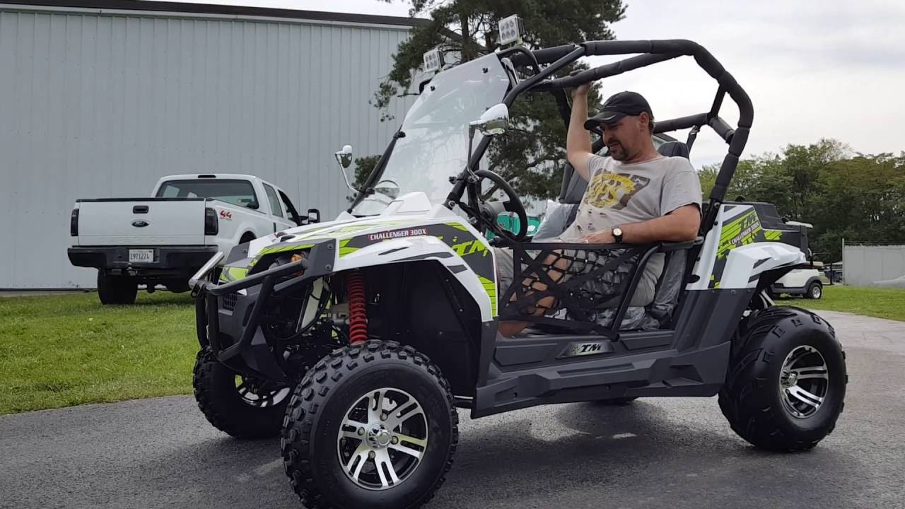 300cc Utv Challenger Utility Vehicle For Sale Youtube