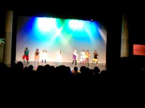 Utterback middle school dance show