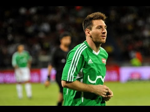 Lionel Messi XI vs Rest of the World XI 9-6 | Full Charity Match 29.06.13