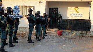 Once detenidos en una actuación conjunta de Guardia Civil y Policía manchega