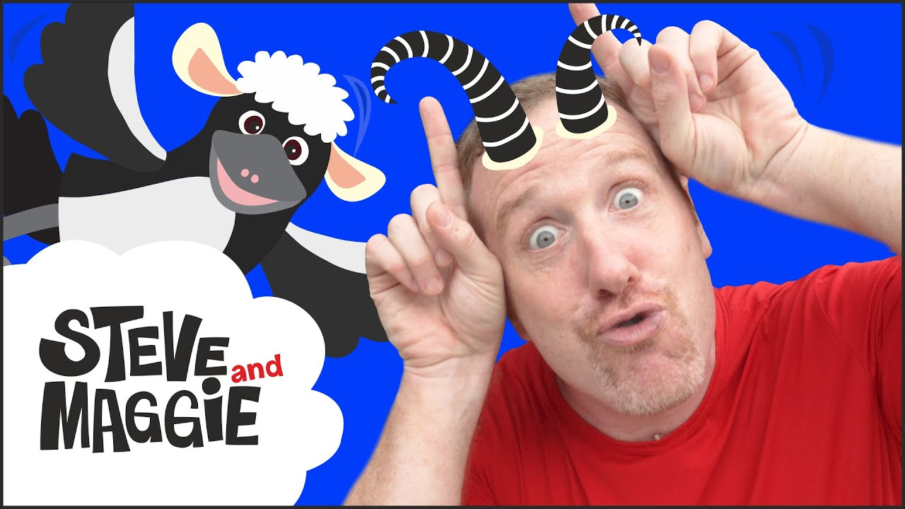 Huge Farm Animal Toys for Kids from Steve and Maggie | Farm Animals by Wow English TV for Children