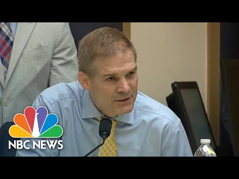 In Heated Exchange, Rep. Jim Jordan Accuses Rod Rosenstein Of 'Hiding Information' | NBC News