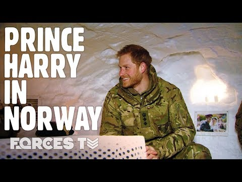Why Prince Harry Called Royal Marines 'Weirdos' In Norway | Forces TV
