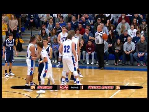 High School Basketball:  McDonald vs. Western Reserve 1-13-17
