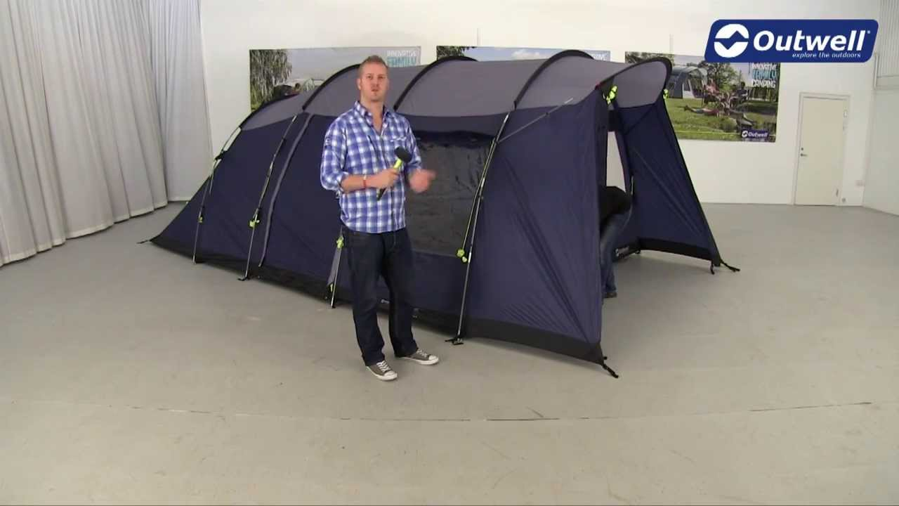Outwell Whitecove 5 Tent Pitching Video (2014)  YouTube