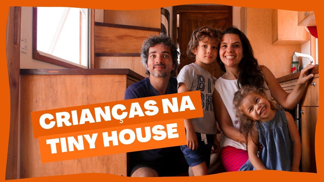 A vida com criança numa mini casa sobre rodas no Brasil | Homeschooling, Viagem e Tiny House.