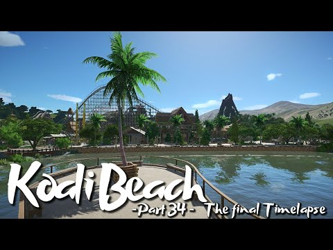 PLANET COASTER - Koali Beach (Part 34) - Wheelchairs & Strollers (ft. DeLadysigner & Keralis)