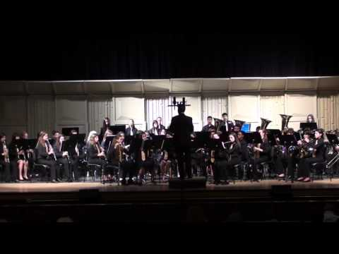 """Westglades Middle School Band 4 (""""The Westglades Winds""""): """"Genius March"""""""