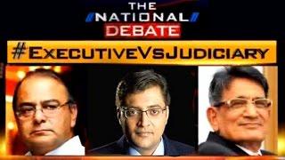 NJAC Debate with Arnab Goswami | Legislature Vs Judiciary | Arun Jaitley Vs Justice R M Lodha - Full