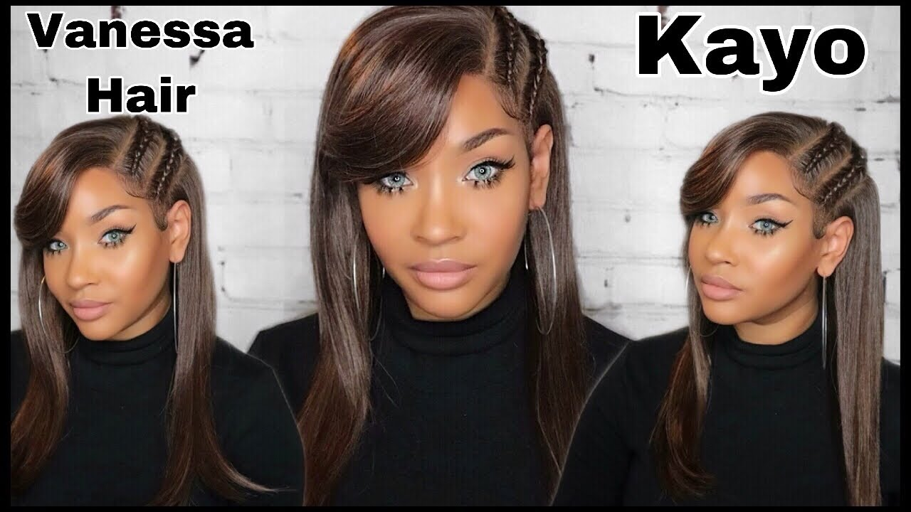 12 MINUTE SLAY VANESSA HAIR TJ12 KAYO WIG REVIEW