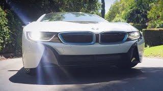 Тест драйв BMW i8 в Лос-Анджелесе, ГОНКИ в каньонах
