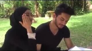 wawa zainal and husband so sweet