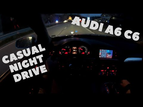 Download POV Night Drive   Audi A6 C6 3.0TDI