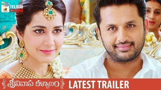 Srinivasa Kalyanam Movie LATEST TRAILER | Nithiin | Raashi Khanna | Dil Raju | Mango Telugu Cinema