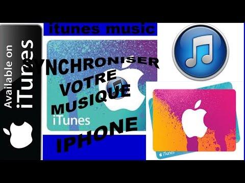 Tuto Comment Synchroniser Votre Musique ITunes IPhone IPod Touch
