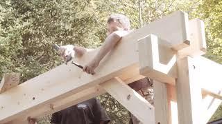 Building A Cedar Pergola In One Day