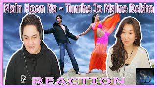 Main Hoon Na - Tumhe Jo Maine Dekha Reaction!   Shah Rukh Khan   Sushmita Sen   Zayed Khan  